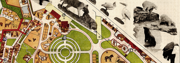 A Map of the Belgrade Zoo, 1939. Historical Archives of Belgrade, Municipality of the City of Belgrade fonds.