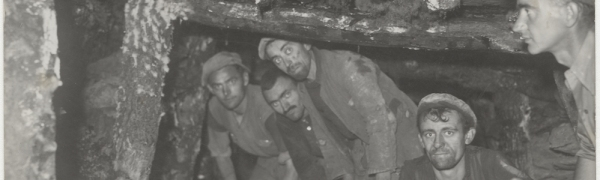 Image from the coal mine in Kërraba, Tirana (before 1944) - Photographic Archive of the Central State Archives in Albania