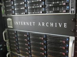 Il sito Icar nell'Internet Archive
